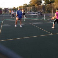 Summer Outdoor Pickleball